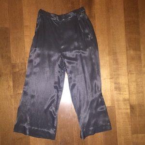 Pants - Silk grey gauchos